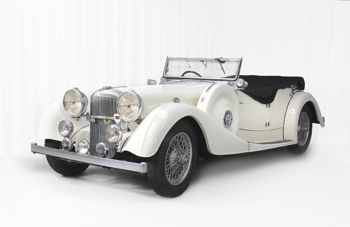 1936 Speed 25 Tourer Coachwork by Cross & Ellis For Sale (picture 1 of 6)
