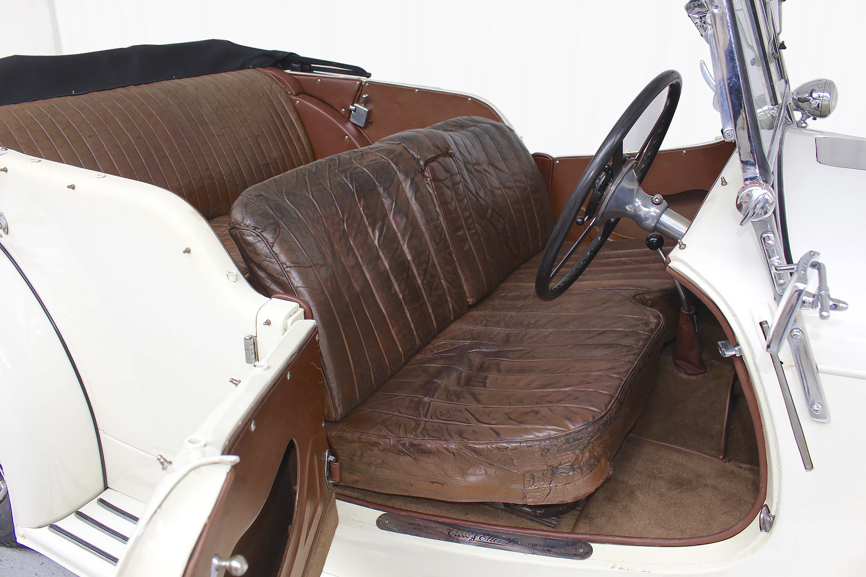 1936 Speed 25 Tourer Coachwork by Cross & Ellis For Sale (picture 4 of 6)