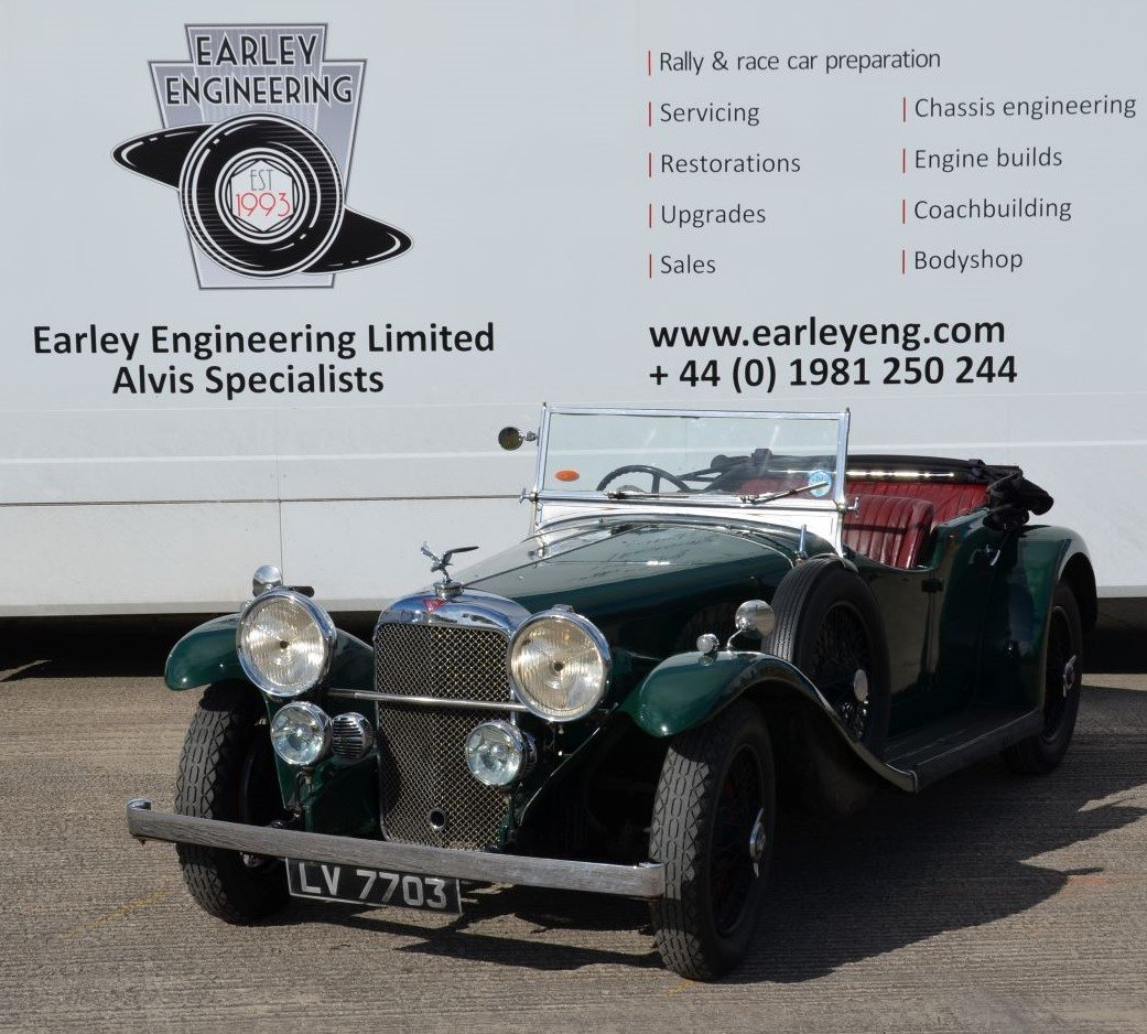 1934 Alvis Speed 20 SB Cross and Ellis Sports Tourer For Sale (picture 1 of 5)