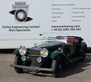 Alvis Speed 20 SB Cross and Ellis Sports Tourer
