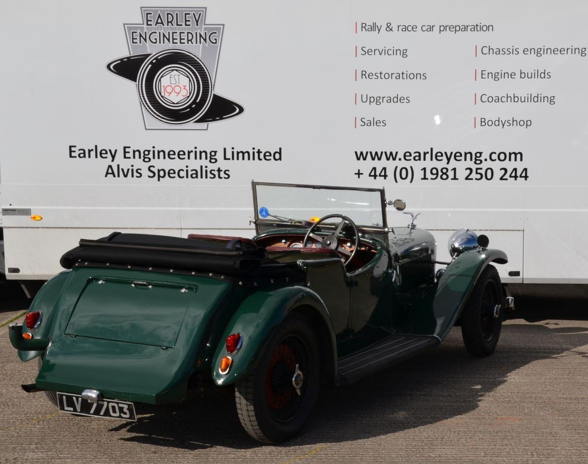 1934 Alvis Speed 20 SB Cross and Ellis Sports Tourer For Sale (picture 2 of 5)