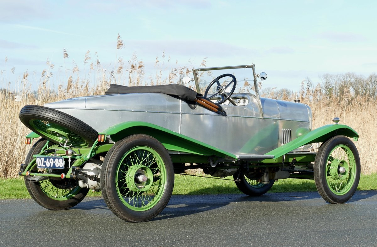 Alvis 12/40 Ducksback 1923 €49500 For Sale (picture 2 of 6)