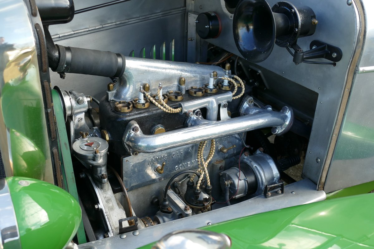 Alvis 12/40 Ducksback 1923 €49500 For Sale (picture 4 of 6)