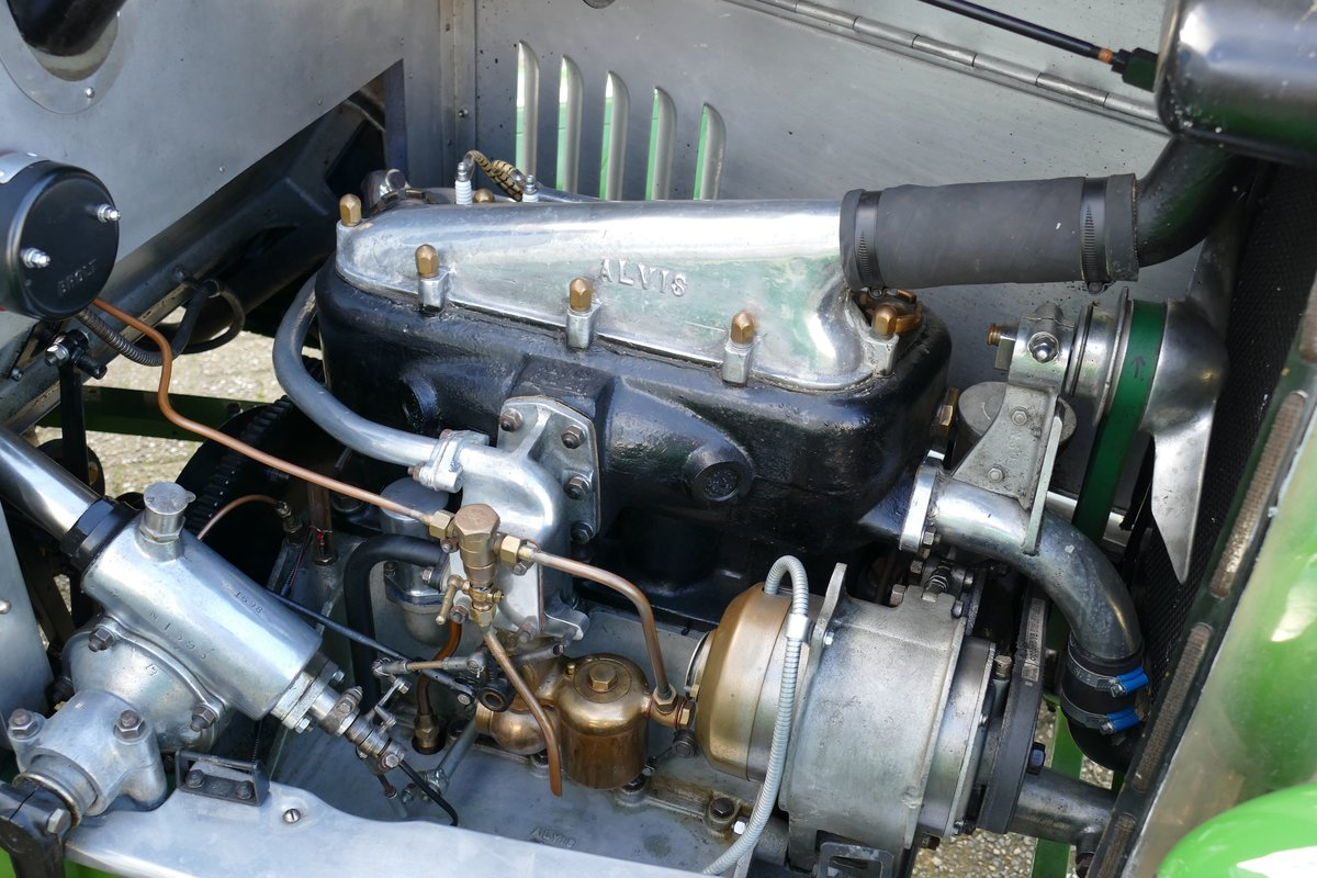 Alvis 12/40 Ducksback 1923 €49500 For Sale (picture 5 of 6)
