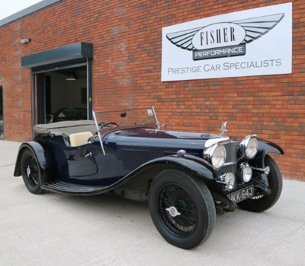 1932 Alvis Speed 20 SA VDP Tourer For Sale (picture 2 of 6)