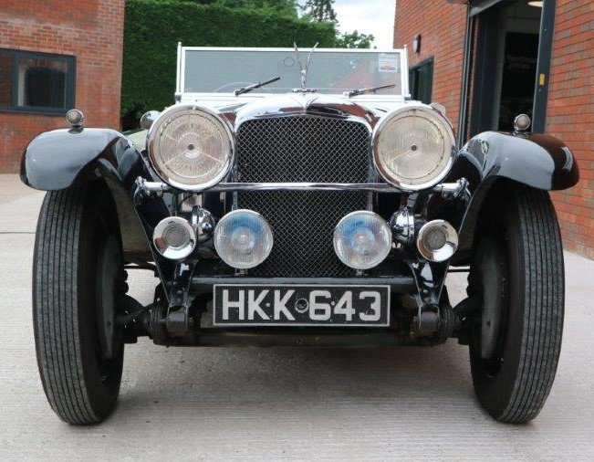 1932 Alvis Speed 20 SA VDP Tourer For Sale (picture 3 of 6)