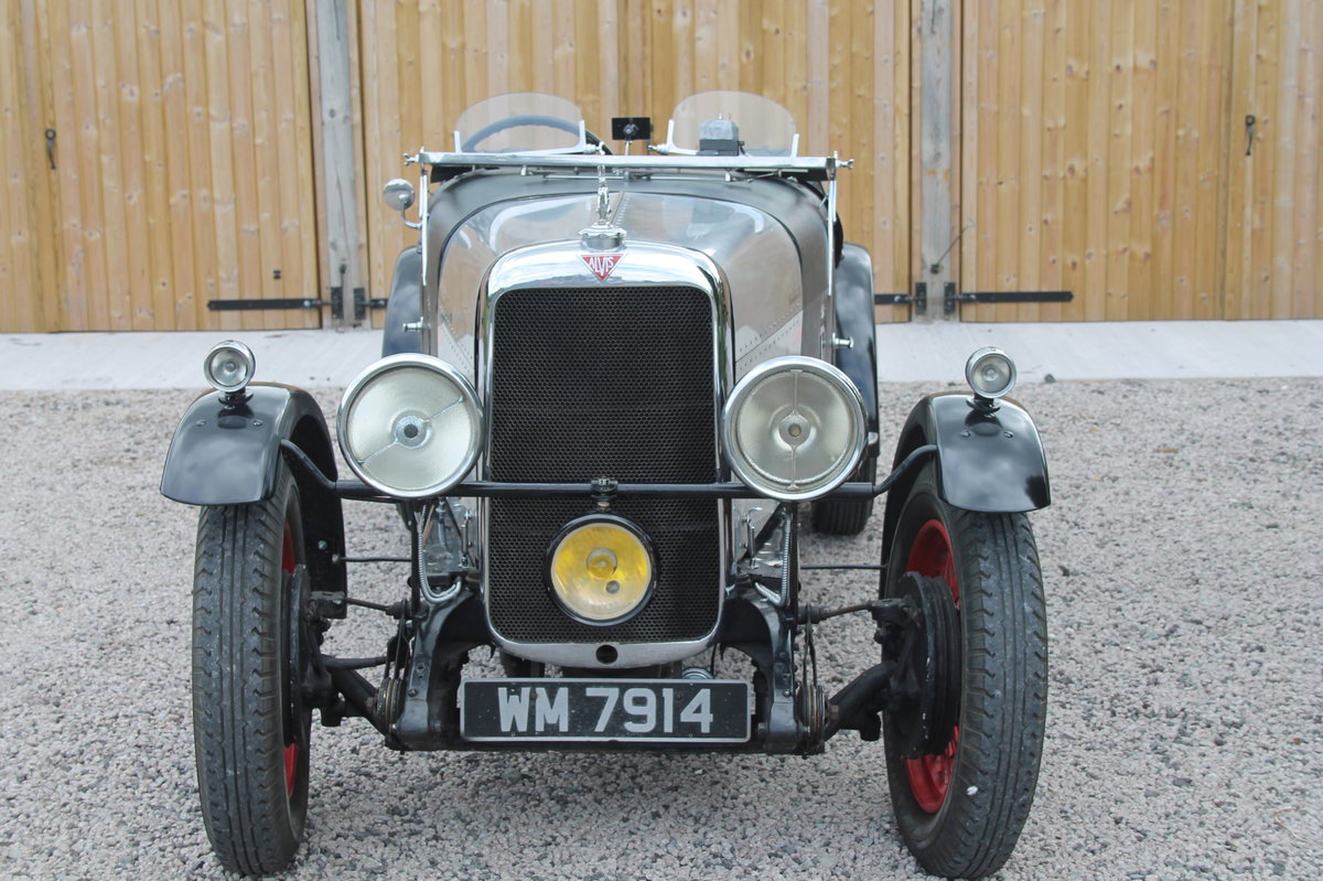 1932 ALVIS 12/50 Rally Special For Sale (picture 2 of 6)