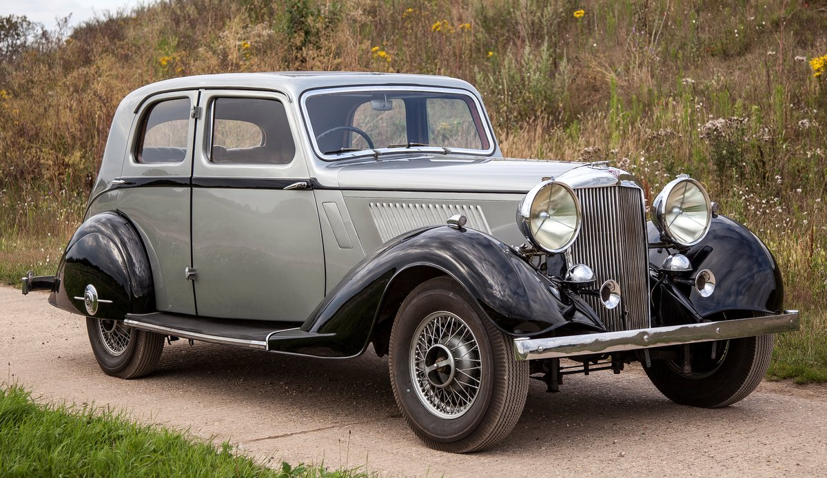 1936 Alvis Silver Crest 20/92 For Sale (picture 1 of 6)