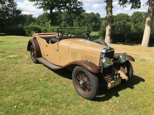 1934 Alvis SB Firefly Tourer