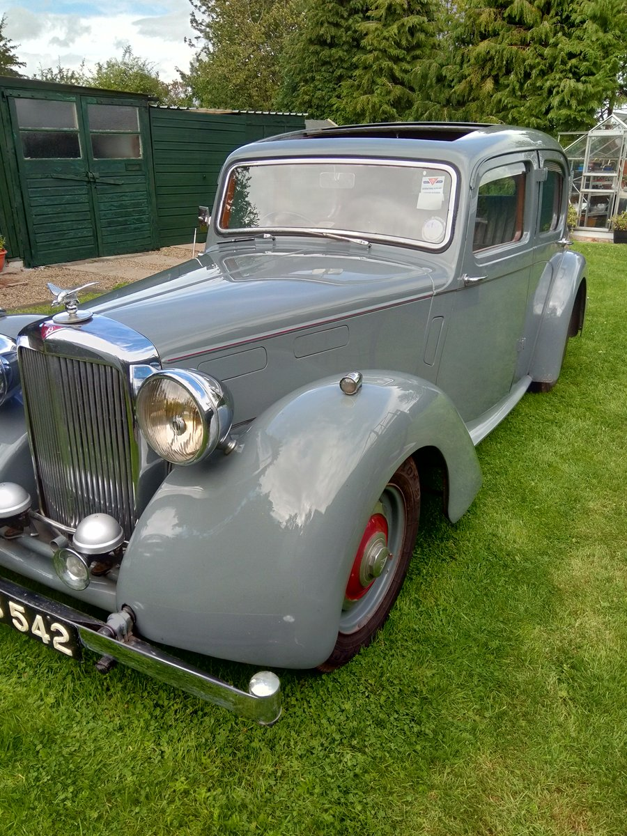 1950 Alvis TA14 Mulliner Saloon For Sale (picture 1 of 6)