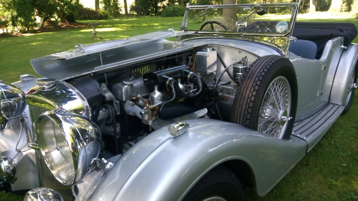1940 Alvis Speed 25 Tourer For Sale (picture 1 of 6)