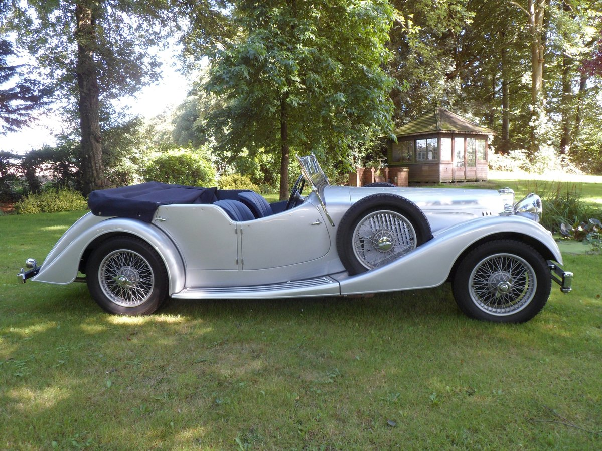 1940 Alvis Speed 25 Tourer For Sale (picture 2 of 6)