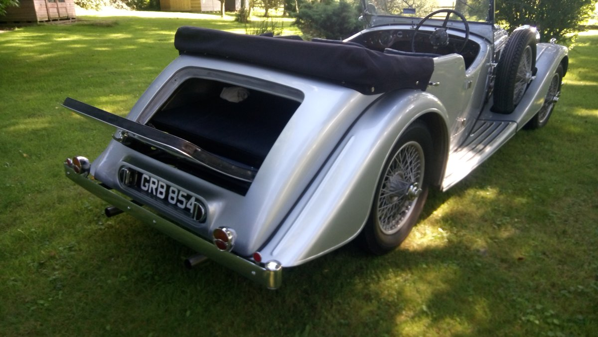 1940 Alvis Speed 25 Tourer For Sale (picture 5 of 6)