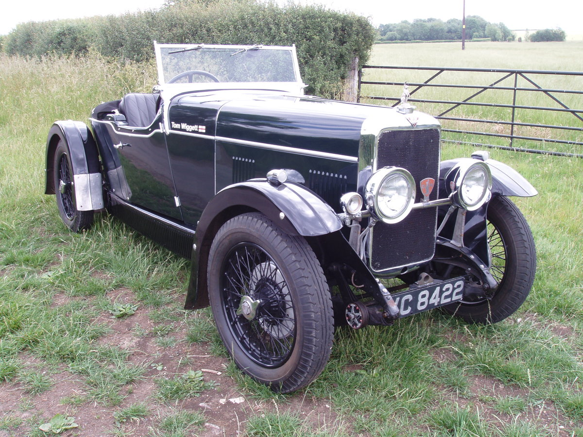 1931 Alvis 12/60 TK Beetleback open 2-seat & dickey For Sale (picture 1 of 6)