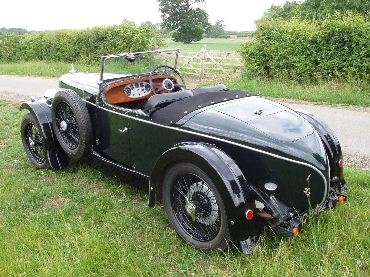 1931 Alvis 12/60 TK Beetleback open 2-seat & dickey For Sale (picture 2 of 6)