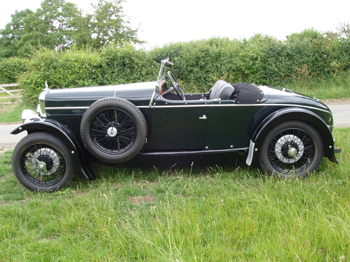1931 Alvis 12/60 TK Beetleback open 2-seat & dickey For Sale (picture 3 of 6)