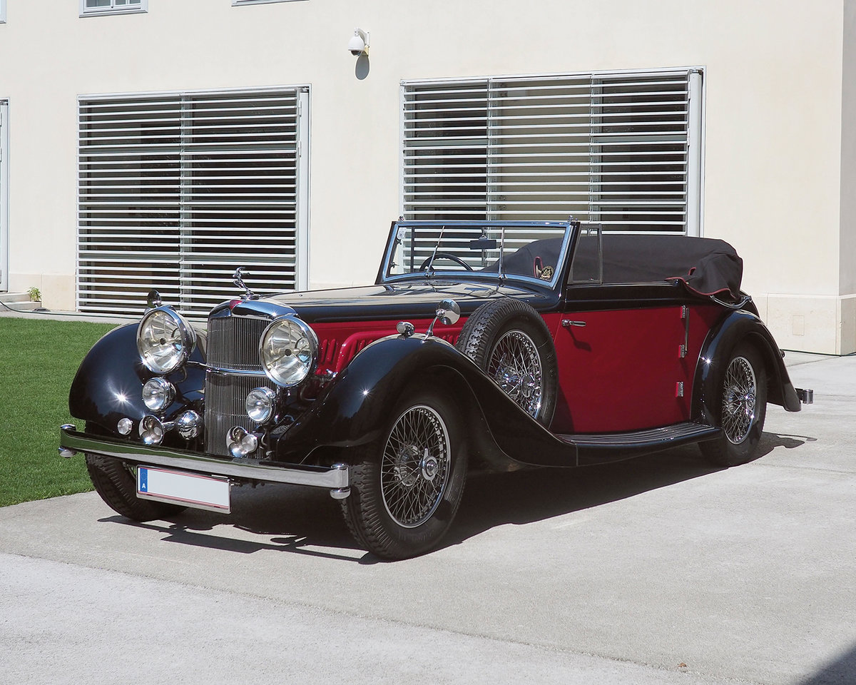 1939 Alvis 4.3 Drop Head Coupe by Offord & Sons For Sale by Auction (picture 1 of 5)