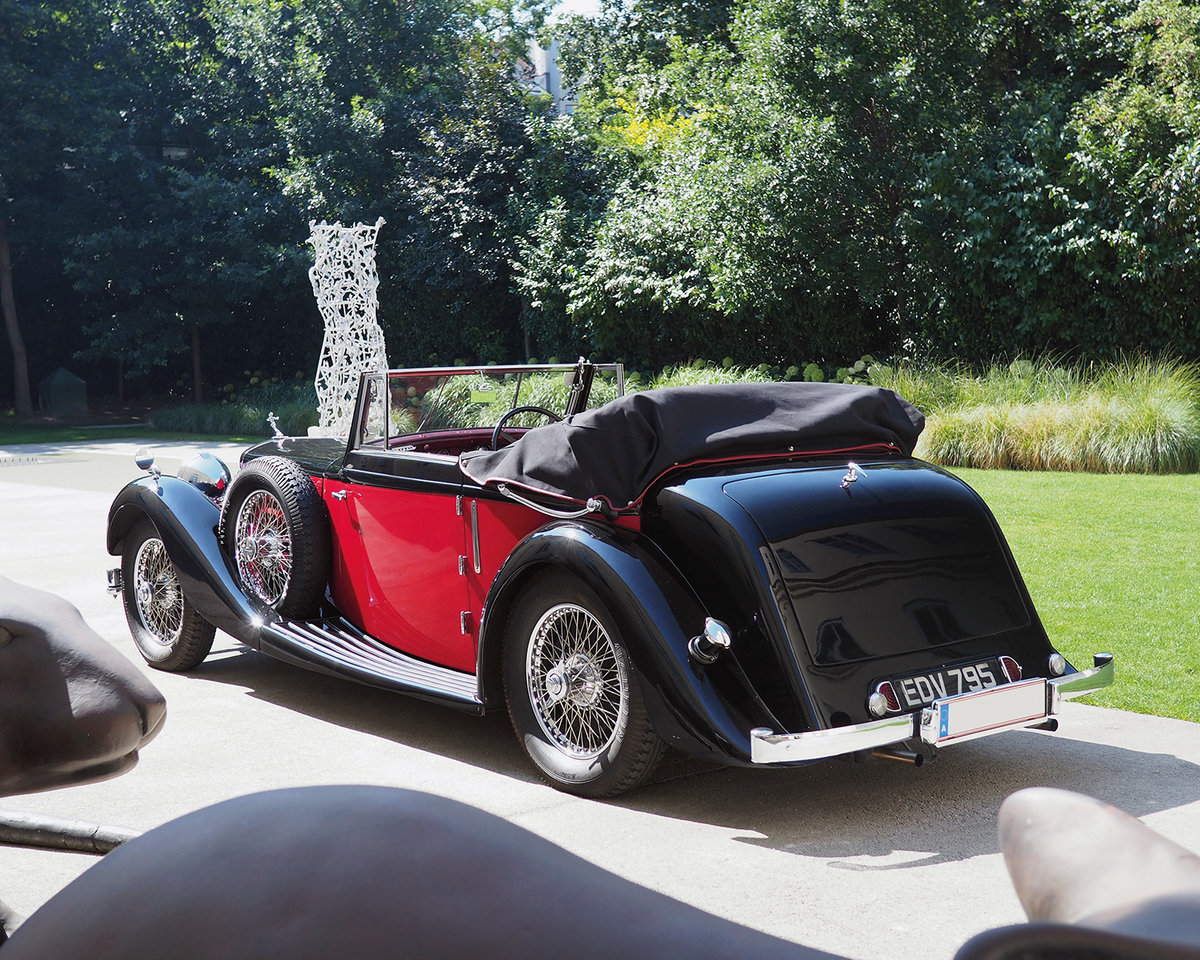 1939 Alvis 4.3 Drop Head Coupe by Offord & Sons For Sale by Auction (picture 2 of 5)