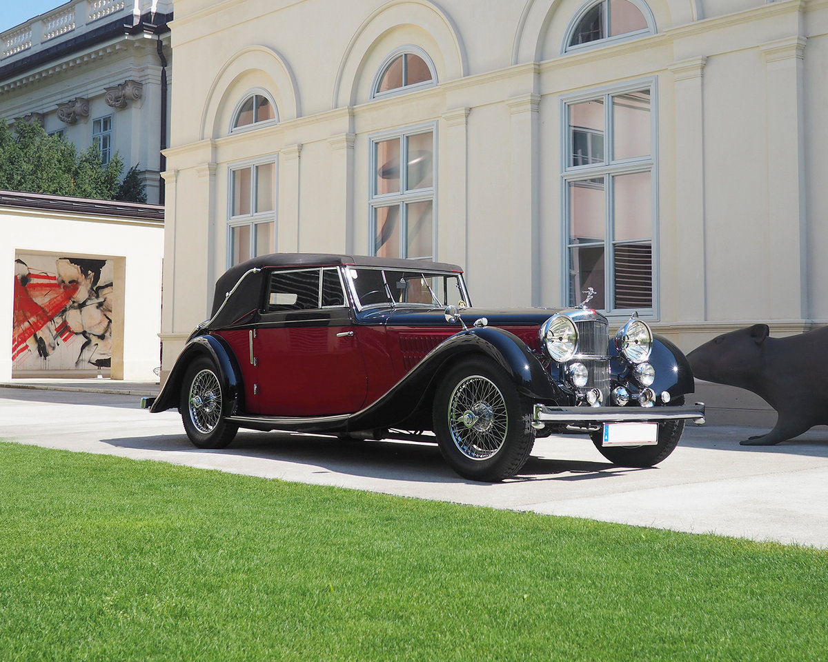 1939 Alvis 4.3 Drop Head Coupe by Offord & Sons For Sale by Auction (picture 3 of 5)