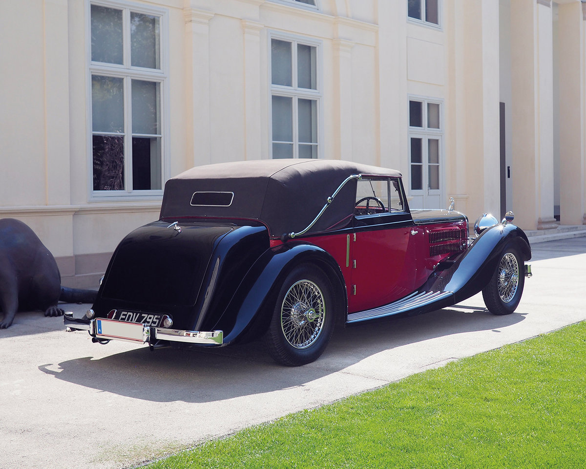 1939 Alvis 4.3 Drop Head Coupe by Offord & Sons For Sale by Auction (picture 4 of 5)