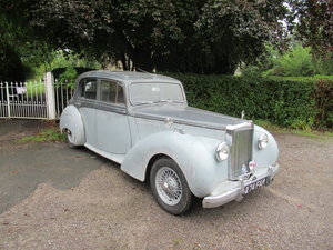 Picture of 1955 Alvis TC21/100 Grey Lady.