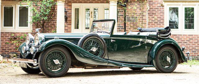 'The Nell Collection' 1935 Alvis Speed 20SC  For Sale by Auction
