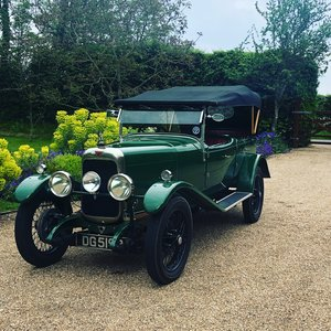 Lovely Alvis 12/50 TJ Tourer