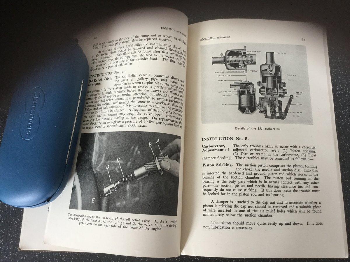 Alvis TA14 original handbook For Sale (picture 6 of 6)