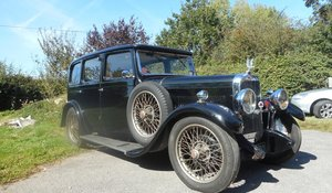 1930 Alvis Silver Eagle 6-light Saloon For Sale by Auction