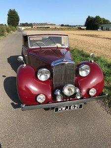 Picture of 1948 Alvis TA14 DHC – excellent, restored car