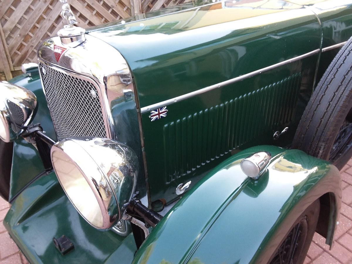 1932 ALVIS 12/60 Beetleback For Sale (picture 5 of 6)