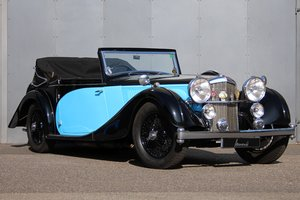 1938 Alvis Speed Twenty Five DHC RHD
