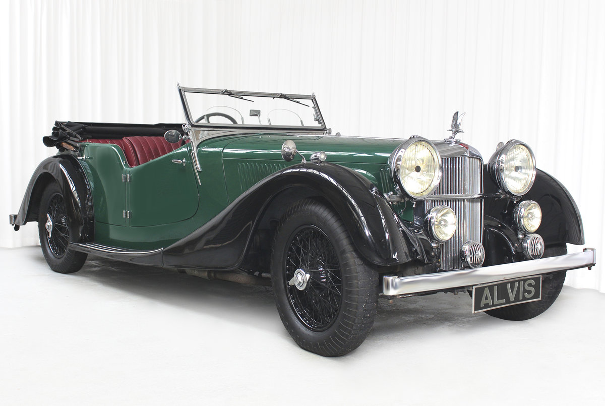 1938 SPEED 25 SC FOUR SEATER TOURER BY CROSS AND ELLIS SOLD (picture 1 of 6)