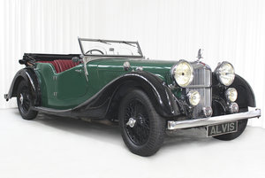 Picture of 1938 SPEED 25 SC FOUR SEATER TOURER BY CROSS AND ELLIS SOLD