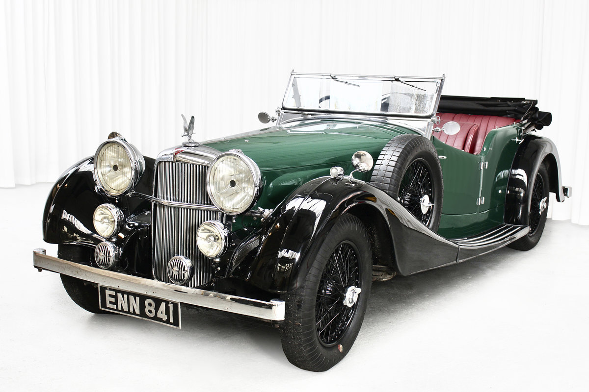 1938 SPEED 25 SC FOUR SEATER TOURER BY CROSS AND ELLIS SOLD (picture 2 of 6)
