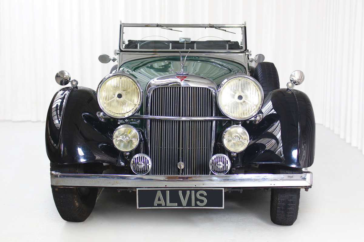 1938 SPEED 25 SC FOUR SEATER TOURER BY CROSS AND ELLIS SOLD (picture 3 of 6)