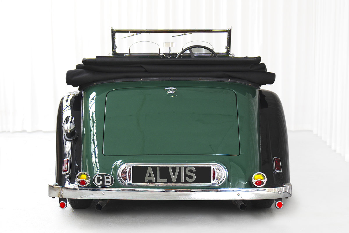 1938 SPEED 25 SC FOUR SEATER TOURER BY CROSS AND ELLIS SOLD (picture 4 of 6)