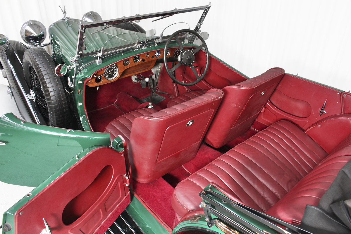 1938 SPEED 25 SC FOUR SEATER TOURER BY CROSS AND ELLIS SOLD (picture 5 of 6)