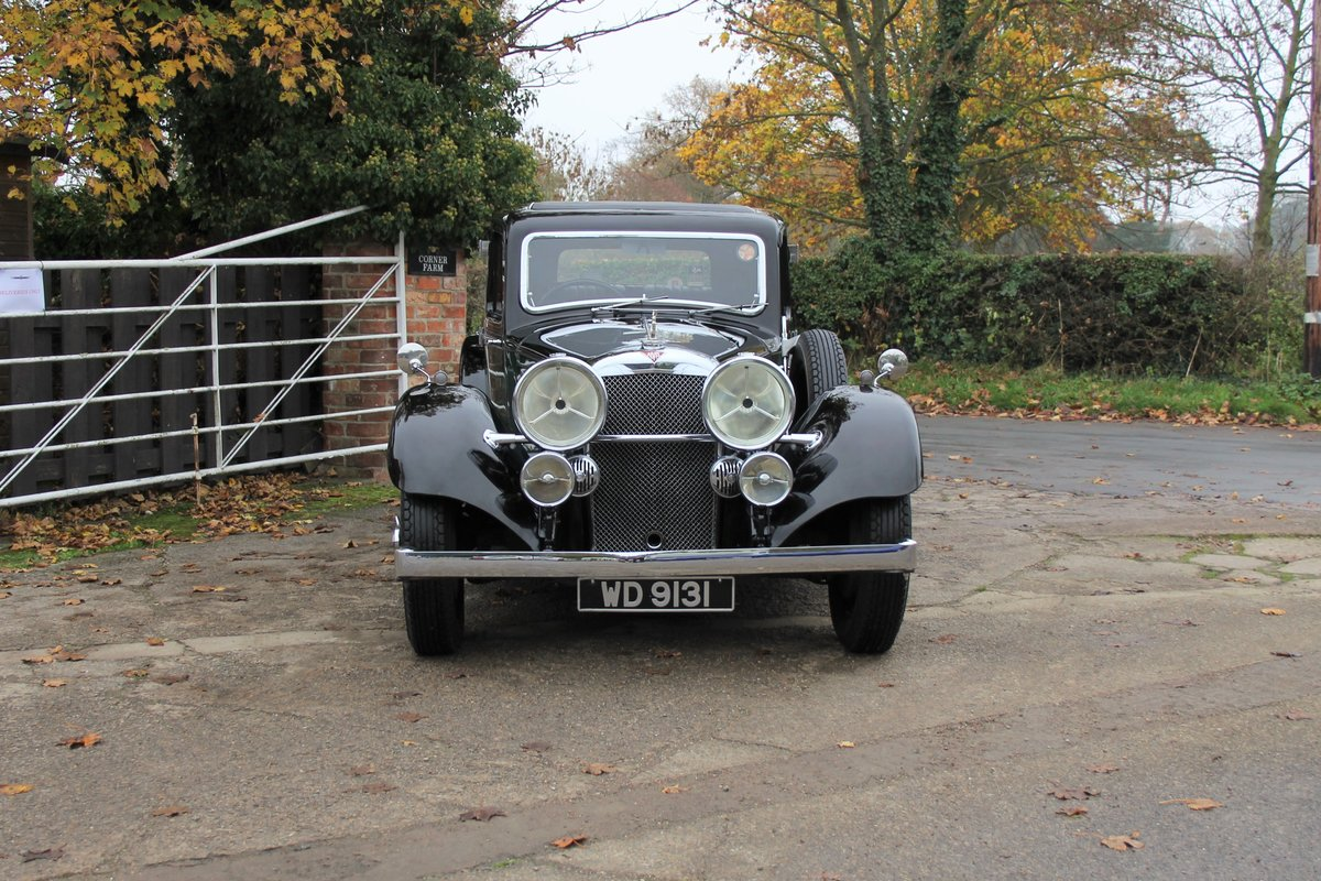 1935 Alvis Speed 20 SC Saloon For Sale (picture 2 of 19)
