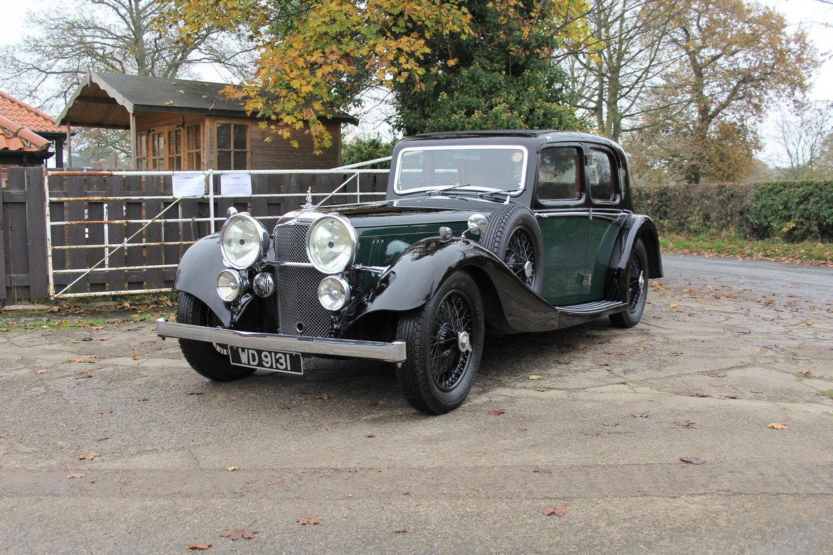 1935 Alvis Speed 20 SC Saloon For Sale (picture 3 of 19)