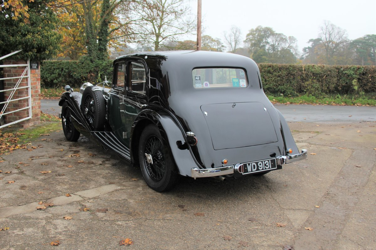 1935 Alvis Speed 20 SC Saloon For Sale (picture 4 of 19)