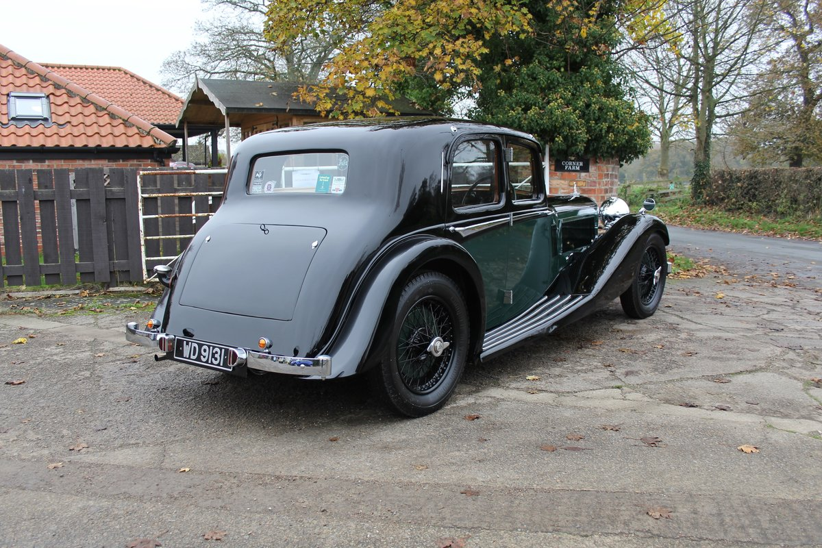 1935 Alvis Speed 20 SC Saloon For Sale (picture 6 of 19)