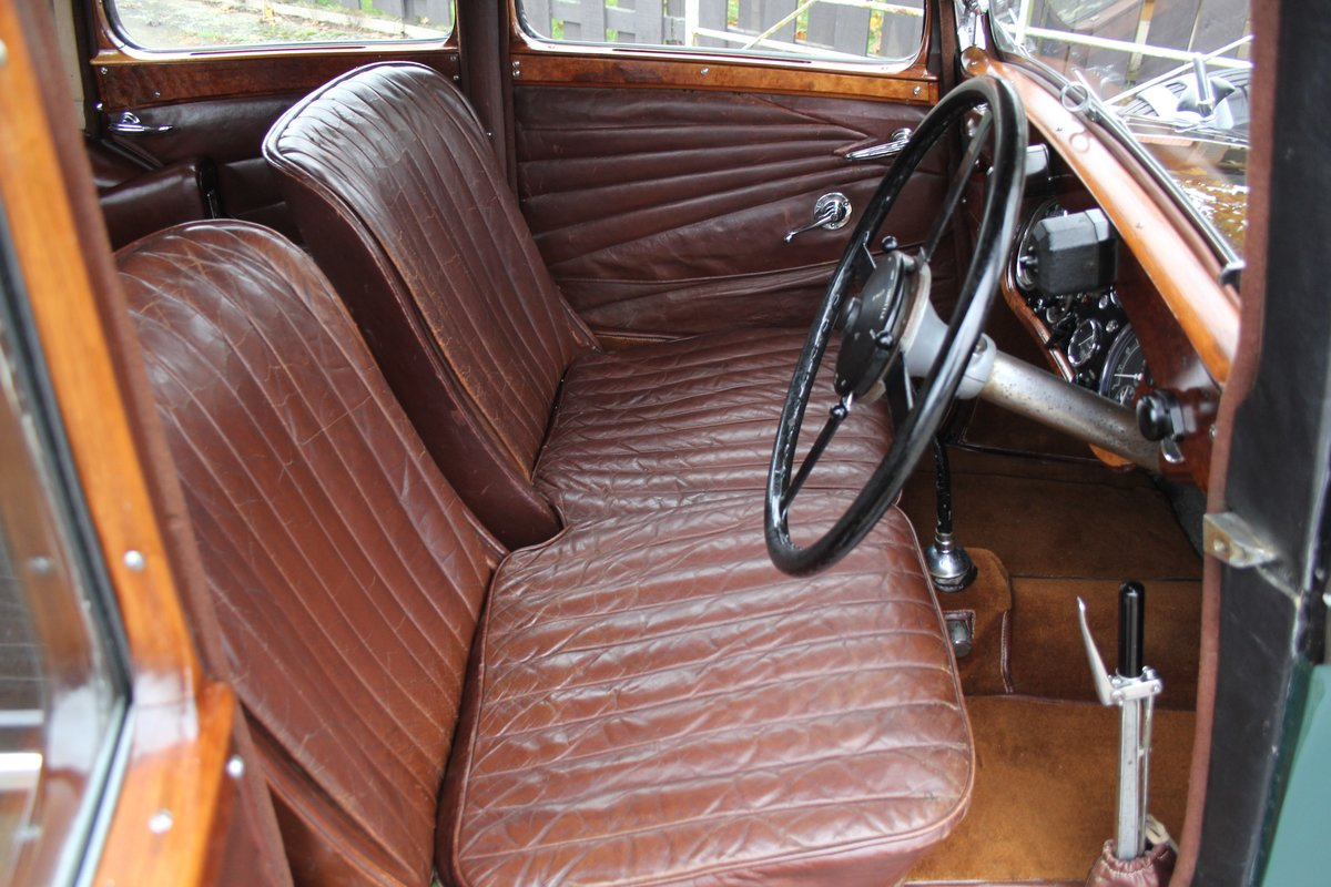 1935 Alvis Speed 20 SC Saloon For Sale (picture 8 of 19)