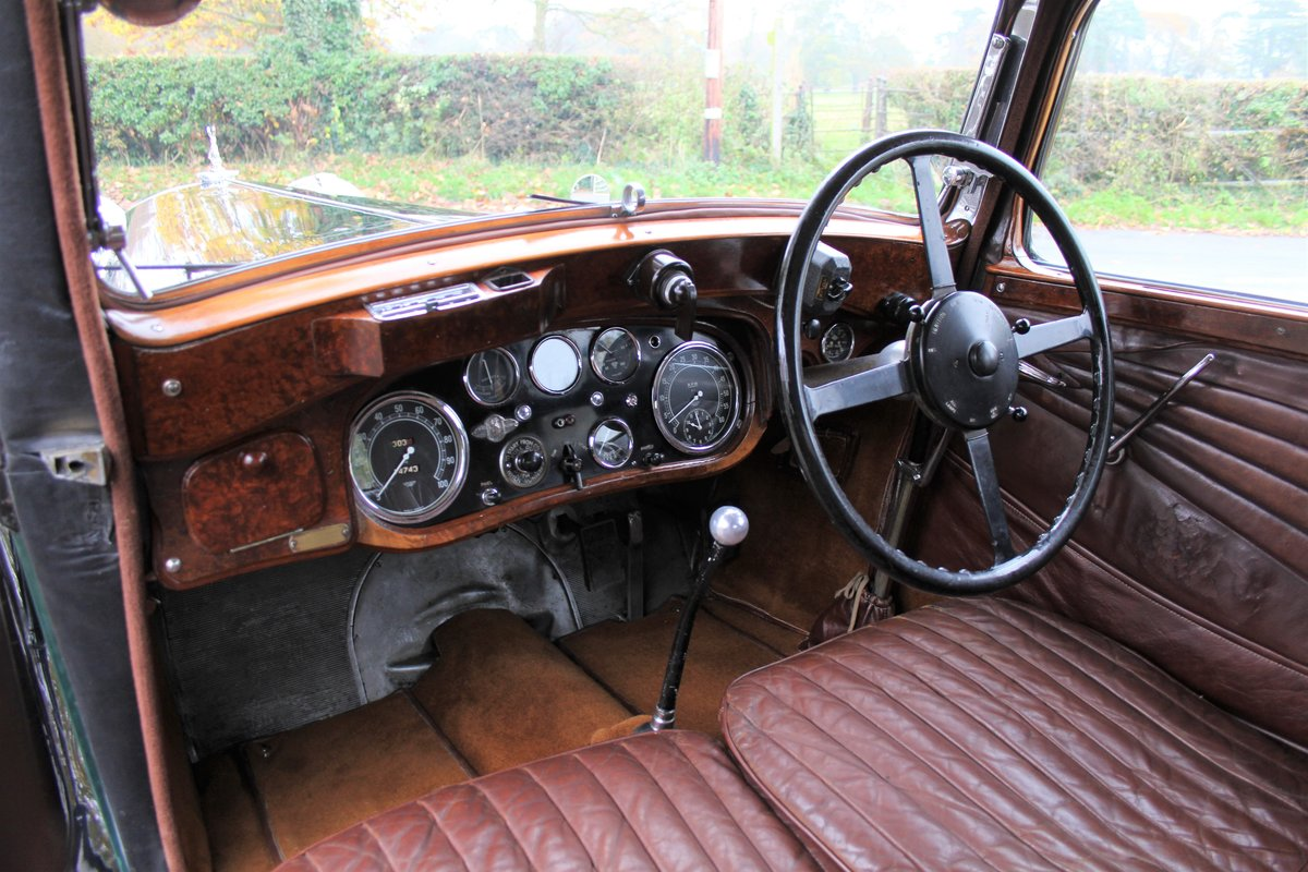 1935 Alvis Speed 20 SC Saloon For Sale (picture 10 of 19)