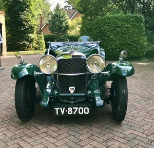 1933 Alvis Speed 20 'SA' Tourer - Now Reserved