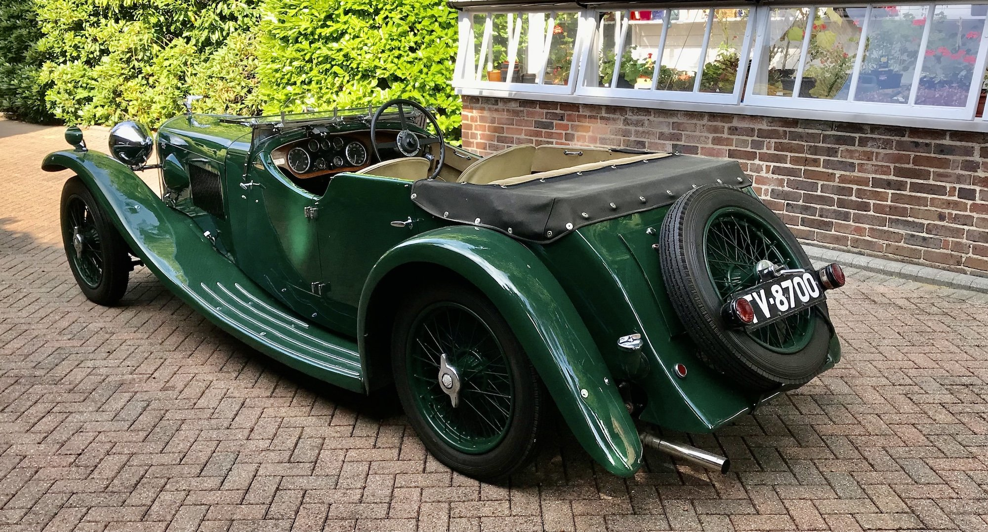 1933 Alvis Speed 20 'SA' Tourer SOLD (picture 6 of 14)