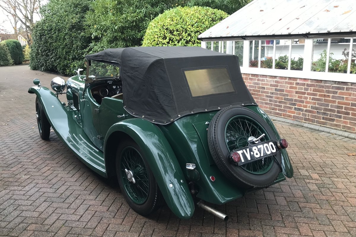 1933 Alvis Speed 20 'SA' Tourer SOLD (picture 8 of 14)