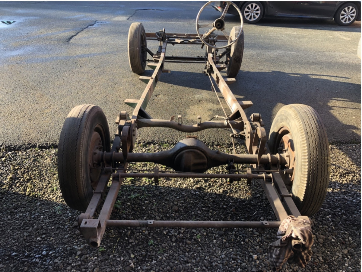 1950 ALVIS SPECIAL KIT OF PARTS For Sale (picture 1 of 6)