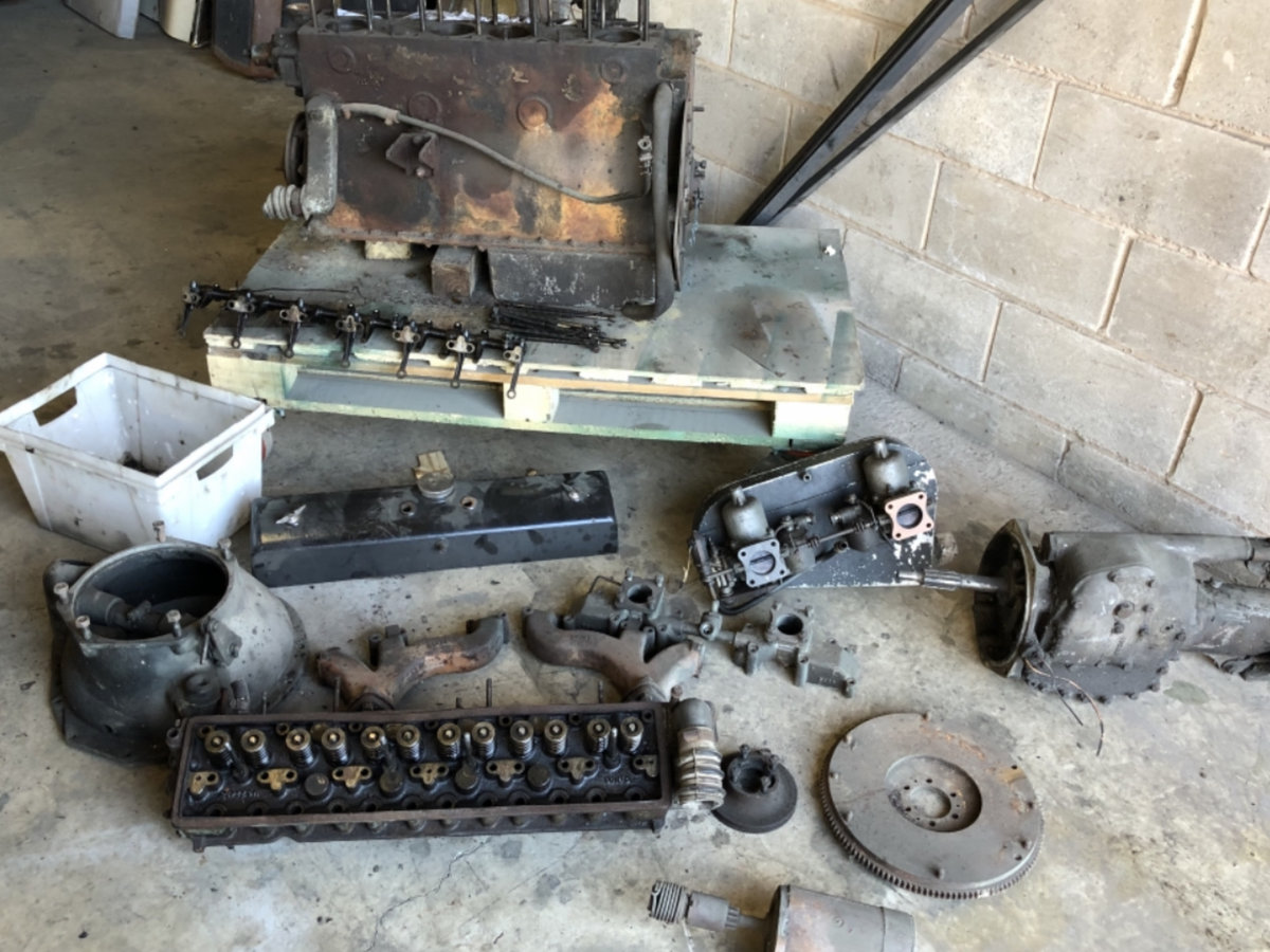1950 ALVIS SPECIAL KIT OF PARTS For Sale (picture 4 of 6)