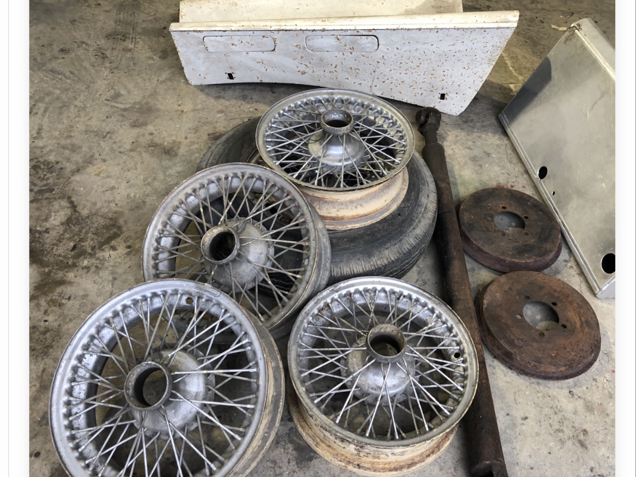 1950 ALVIS SPECIAL KIT OF PARTS For Sale (picture 6 of 6)